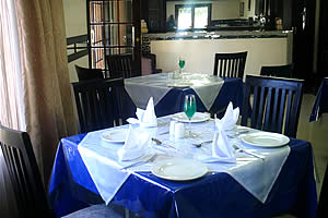 Breakfast, lunch and dinner available at Midrand Global Guest House Restaurant